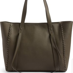 All Saints Raye Leather Tote